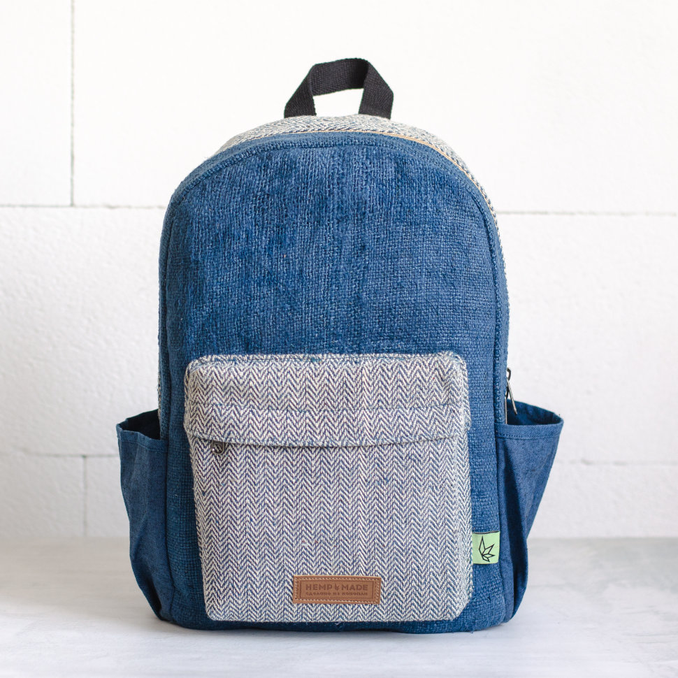 Рюкзак из конопли Тамель, синий