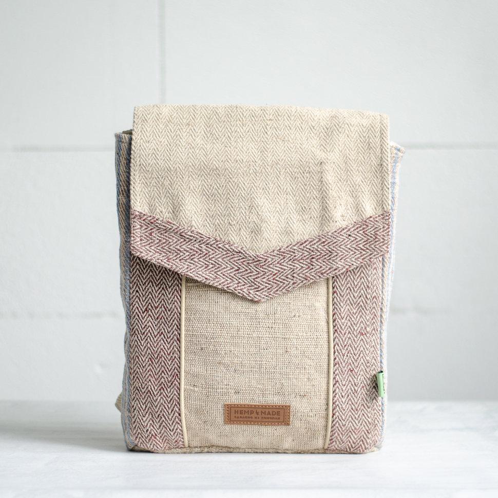 Рюкзак из конопли Сваямбу, светлый