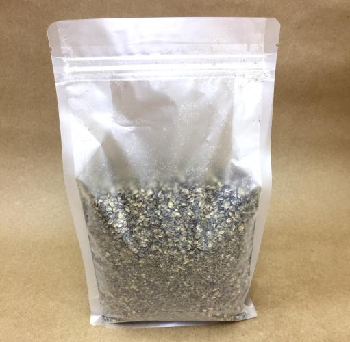 Жмых из семян конопли, 1 кг.
