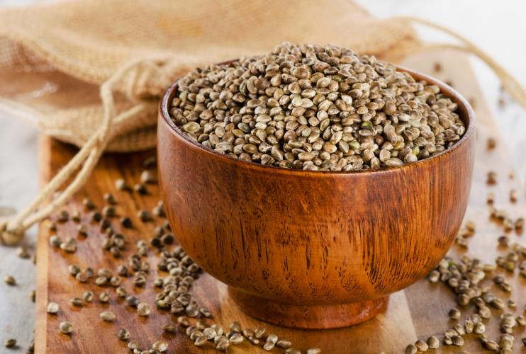 Семена конопли пищевой, 1 кг.